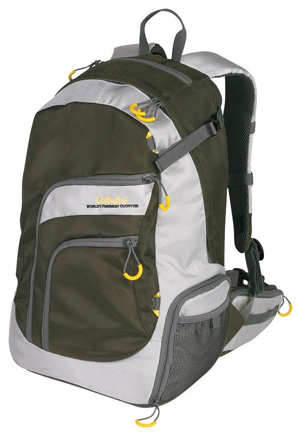 Cabela angler backpack fishing