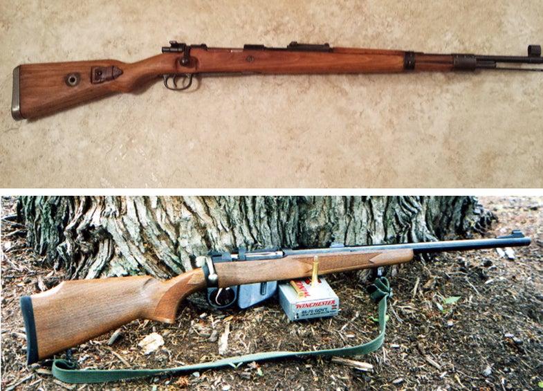 gunfight friday, surplus rifles, sporterized rifles, rifles, shooting, guns,