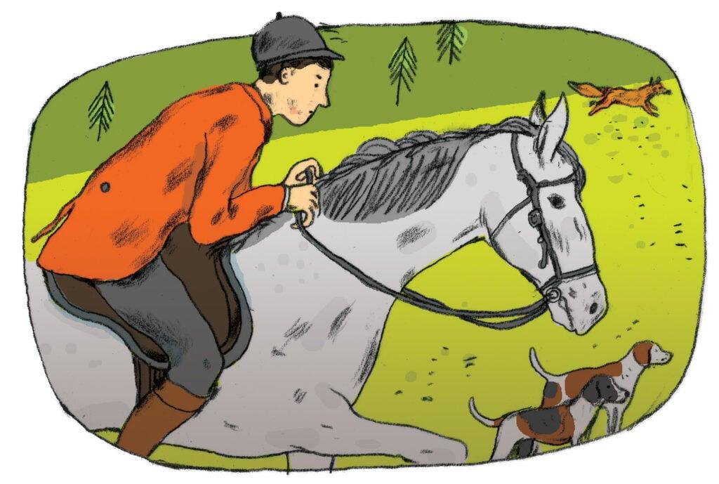 """horseback"""