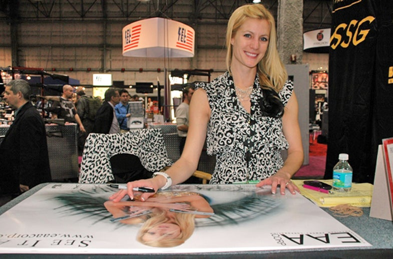 The Booth Babes of the 2011 SHOT Show