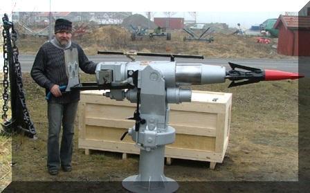Own Your Own … Deck-Mounted Harpoon Gun?