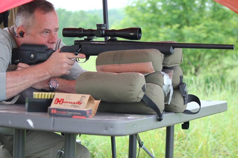 Richard Mann, West Virginia, Field & Stream rifle test 2017