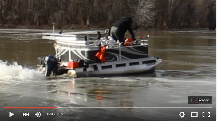 How To Turn A Pontoon Boat Into An Ice Breaker
