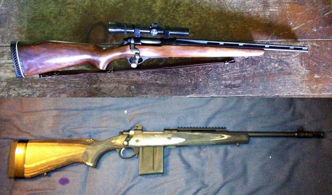 Gunfight Friday: Remington 600 vs. Ruger Gunsite Scout Rifle