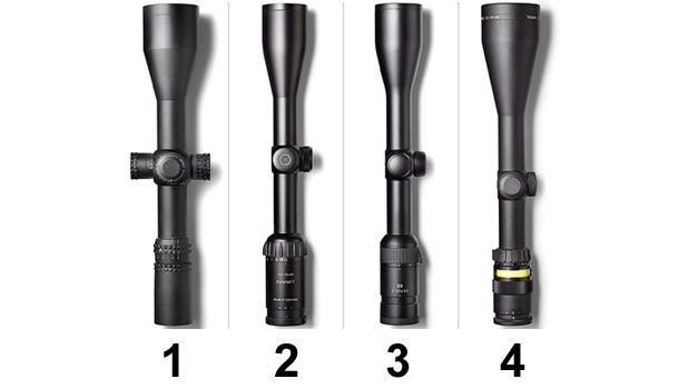 Petzal picks four high-end riflescopes.