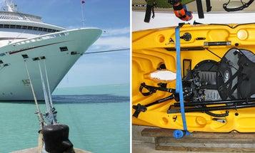 Kayak vs. Cruise Ship