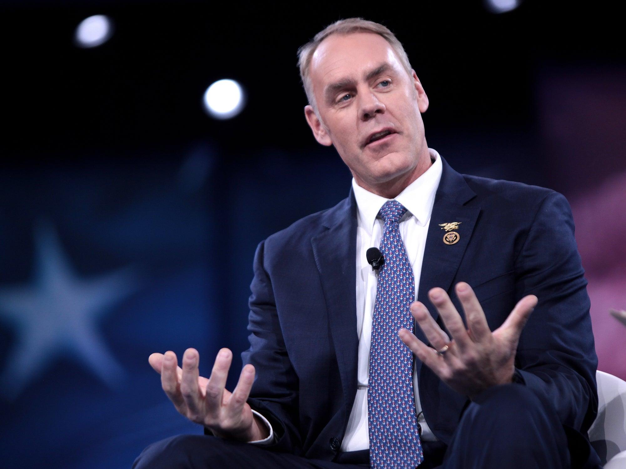 Rep. Ryan Zinke Confirmed as Interior Secretary, Sportsmen's Groups Approve