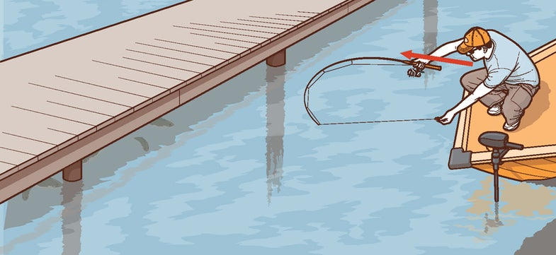 Tip from the Book: How to Shoot Docks for Crappie