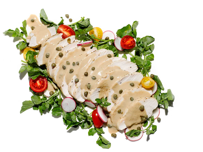 turkey tonnato recipe, spring turkey recipe, easy turkey recipe, italian turkey recipe