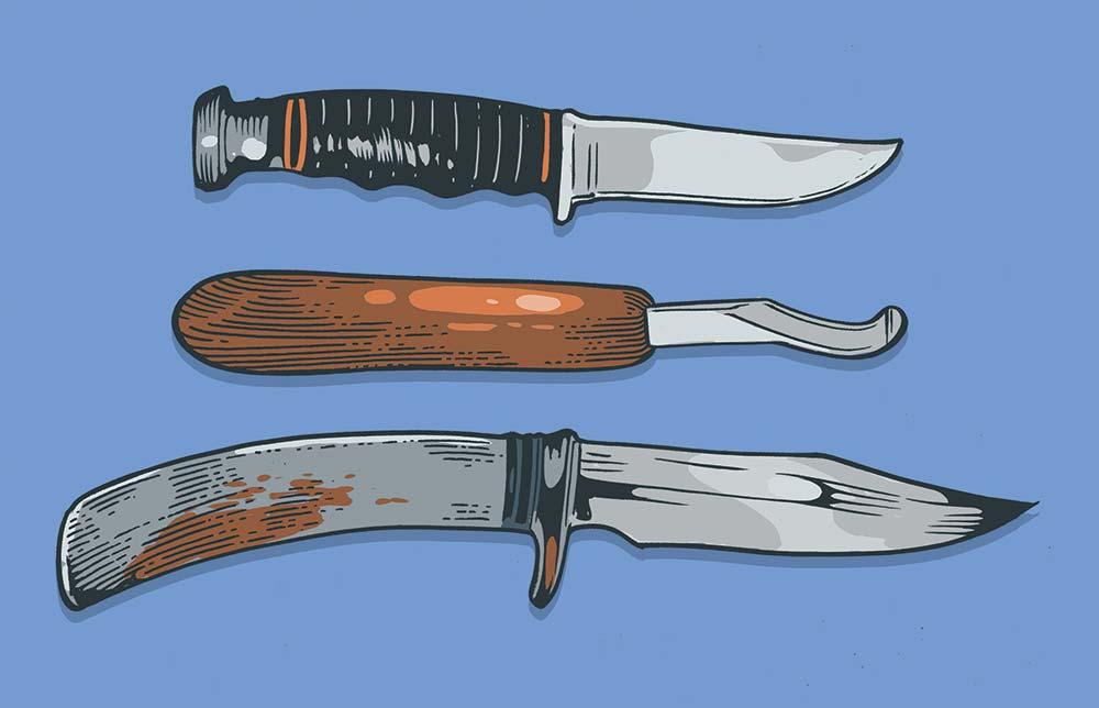 david petzal's hunting knives