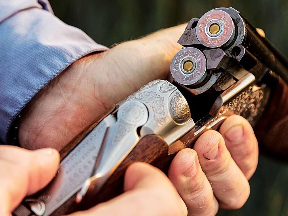 reloading a 20 gauge shotgun