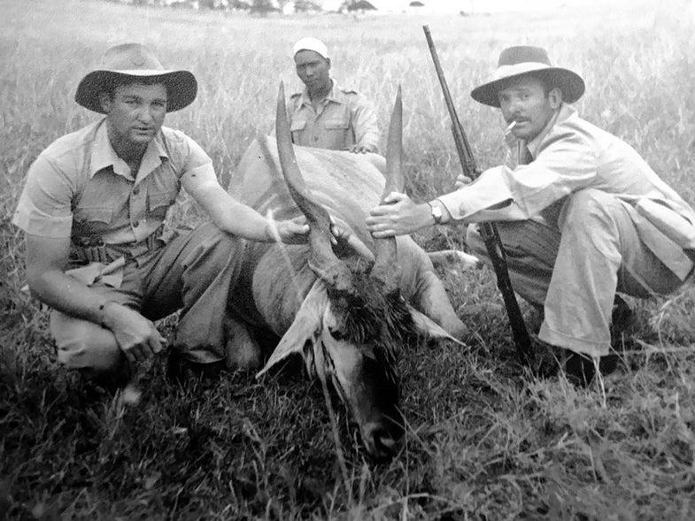 Harry Selby on African safari