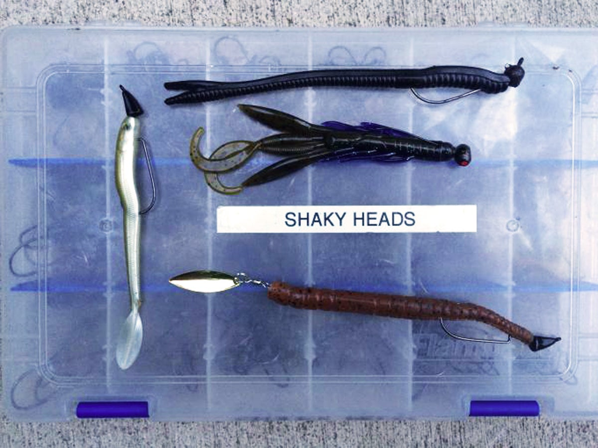 Mid-Summer Shaky Head Tricks That Will Score More Dog-Day Bass
