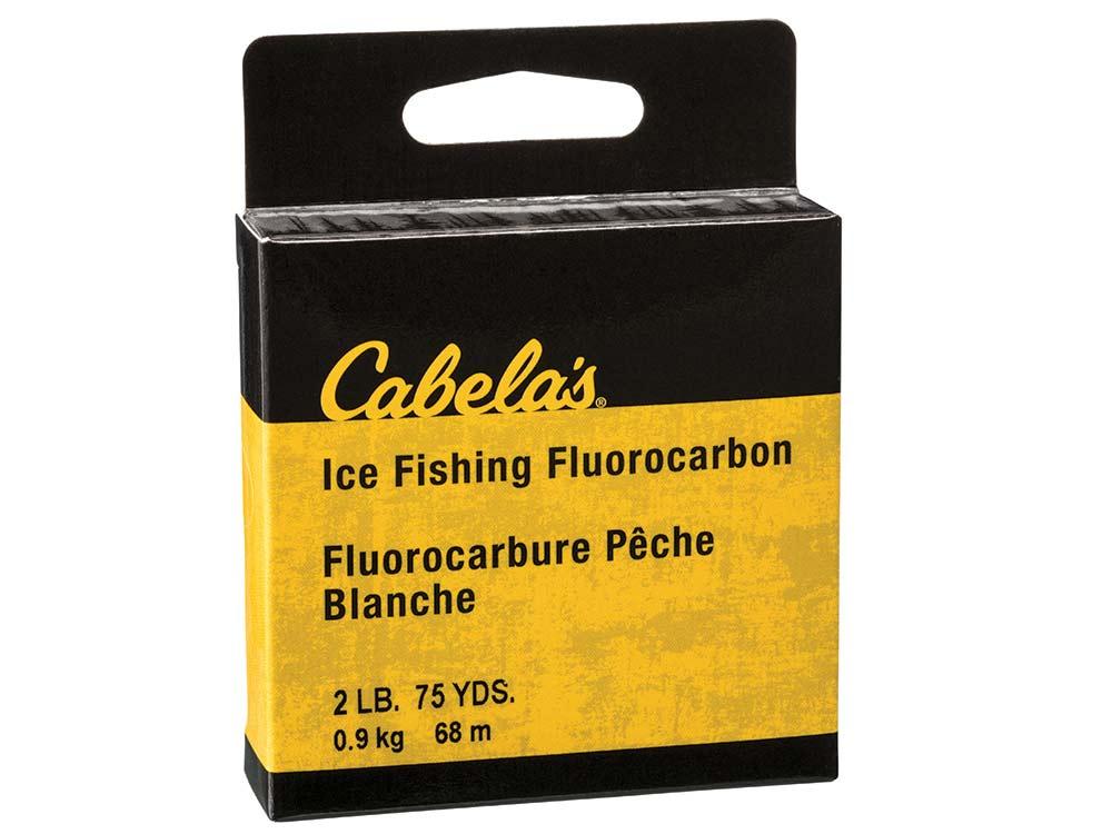 Cabela's Ice Fishing Fluorocarbon Line