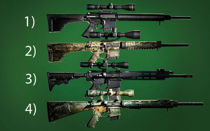 Finally, 4 AR-Style Rifles Chambered for Big Game Hunting