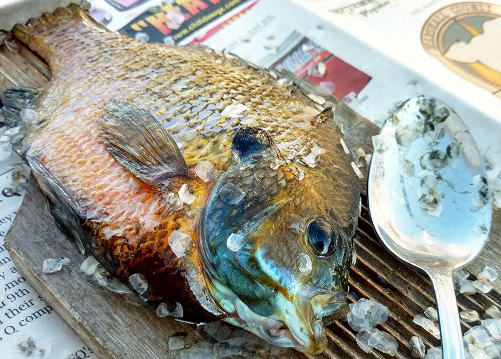 scale, panfish, scaling panfish, david draper