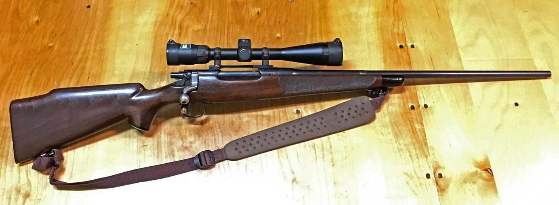 springfield '03 rifle, army gun, sporterized