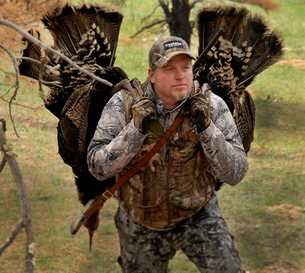 Turkey Hunting: Sit or Sneak on a Flocked-Up Tom