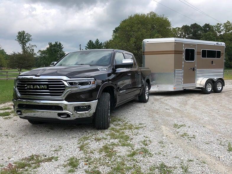 2019 Ram eTorque hybrid truck