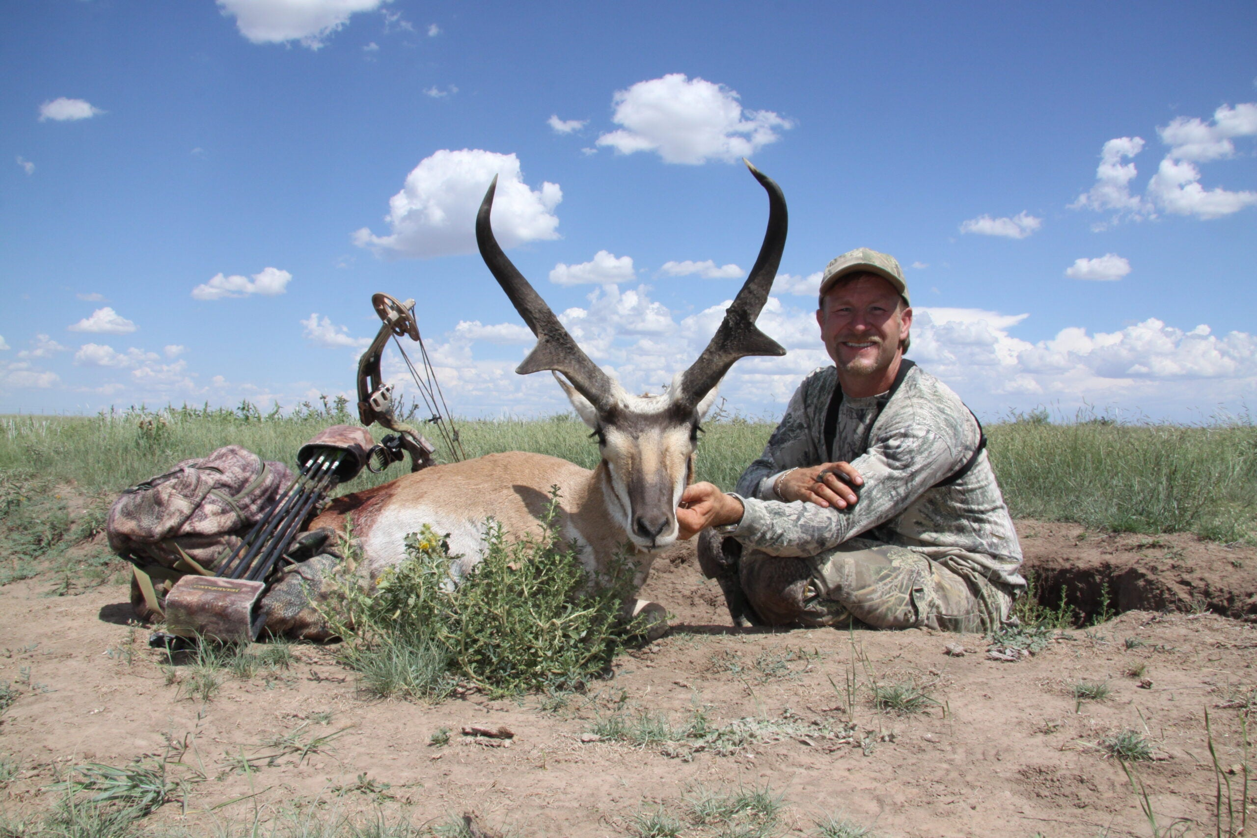 Huge New Mexico Antelope Tagged During 2009 Bow Season