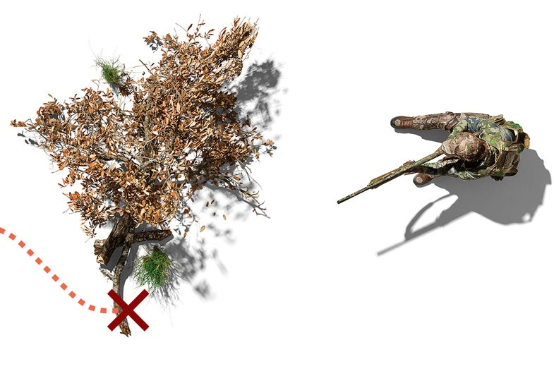 flank a gobbler, spring turkey tactics