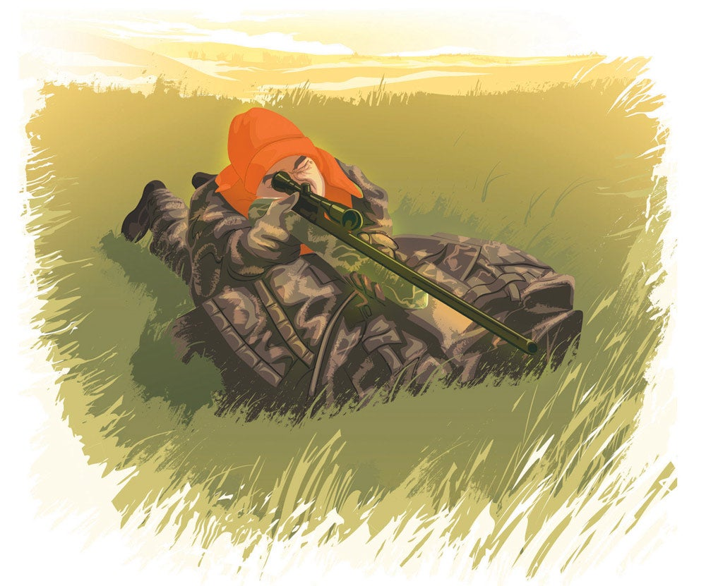 Rifle season illustration