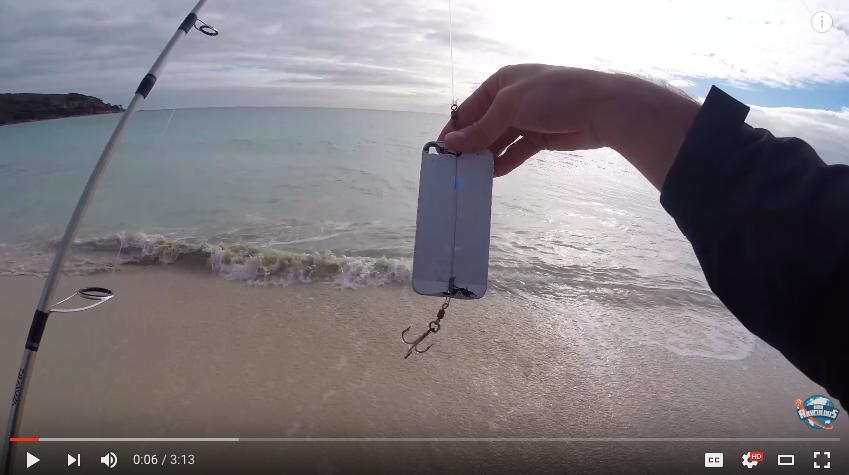 broken iphone, iphone fish, iphone lure, fishing,