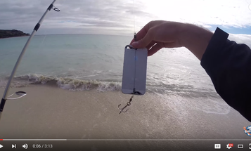 Video: Angler Catches Fish with iPhone
