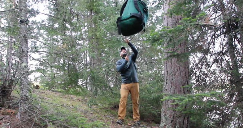 Tips from Quetico: How to Hang Your Food Cache in Bear Country