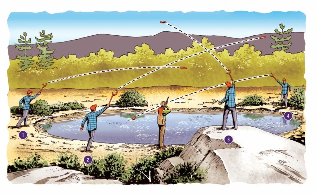 duck hunting skeet training tips