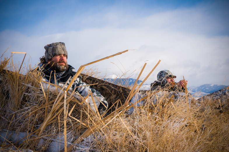 Goose Hunting Tips: How to Hide Your Layout Blind