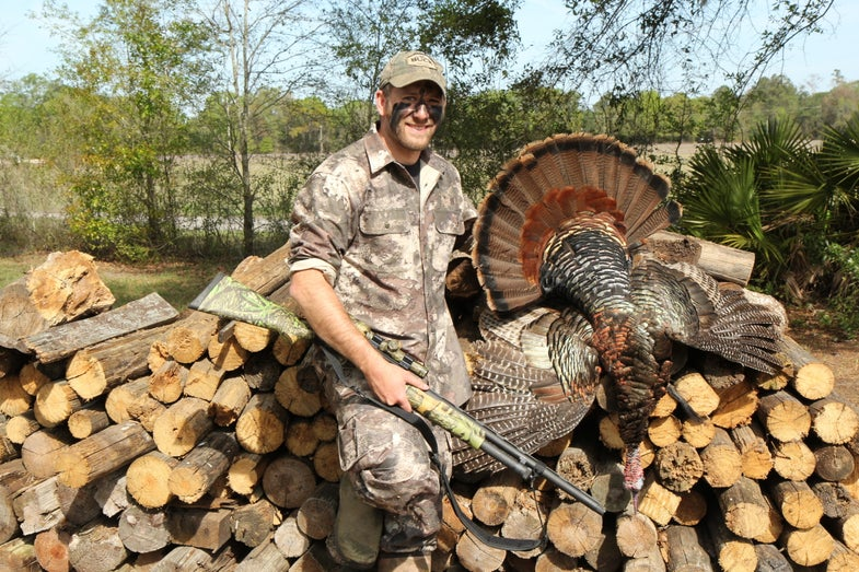 Will Brantley with a Florida turkey