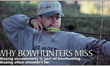Why Bowhunters Miss