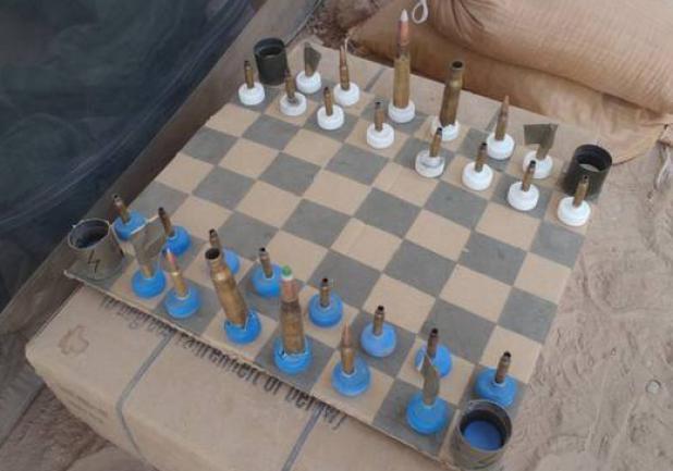 httpswww.fieldandstream.comsitesfieldandstream.comfilesimport2014importBlogPostembedMarine-Afghanistan-Chess-Set.jpg