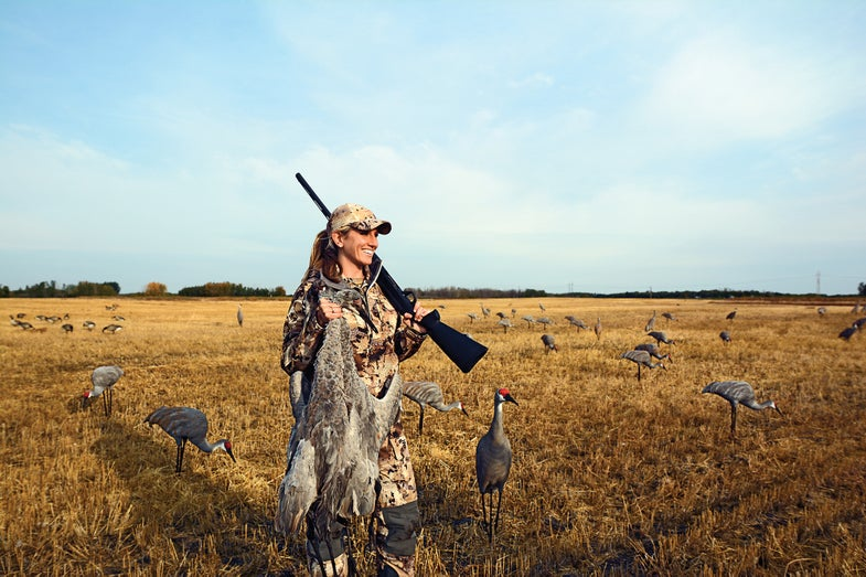 sandhill crane hunting,