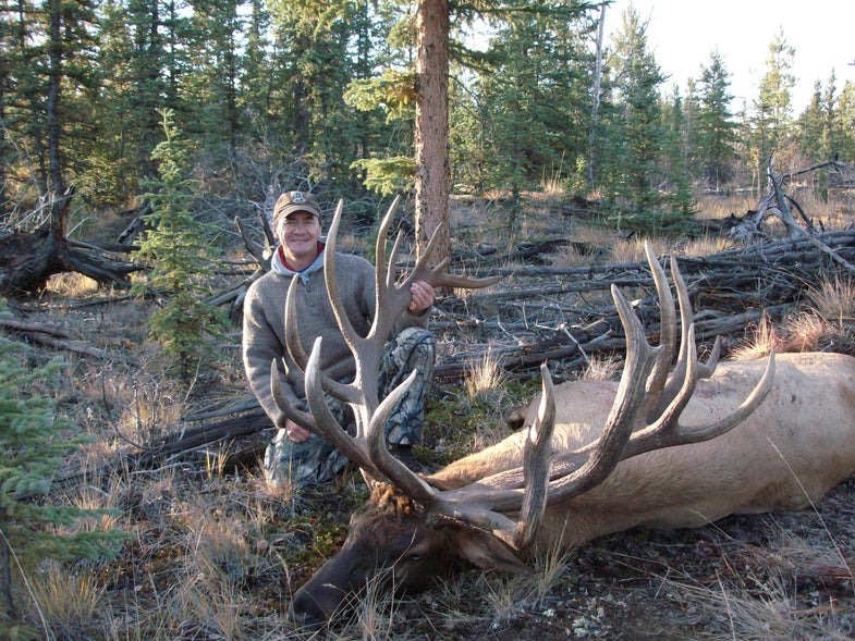 Canadian Sheep Hunting Guide Takes First Yukon Trophy Elk