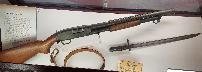 Winchester Model 12 pump trench gun