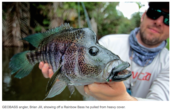 Video: Fly Fishing for Rainbow Bass in the Jungles of Nicaragua