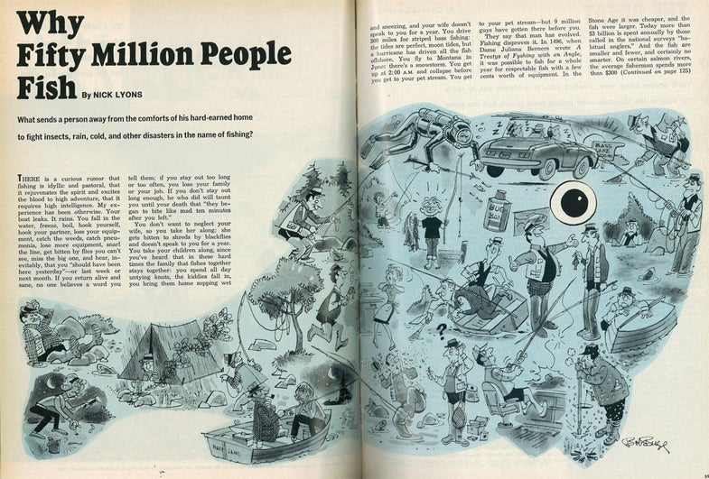 Why Fifty Million People Fish: An F&S Classic by Nick Lyons