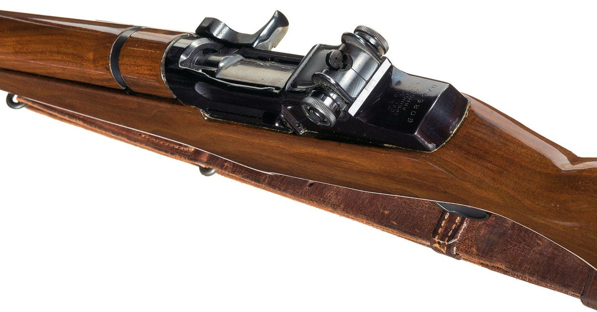 JFK's M1 Garand Goes Up for Auction