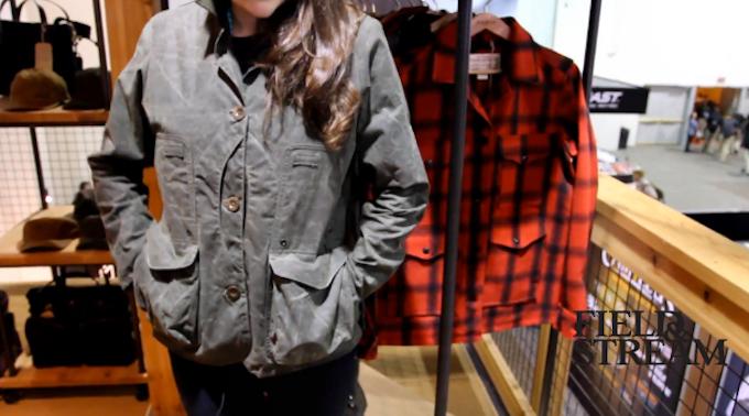 New Women's Hunting Jacket: Filson Lightweight Field Coat