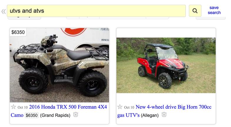 ATV vs UTV