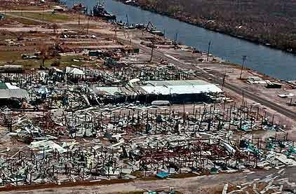 Katrina devastated this marina