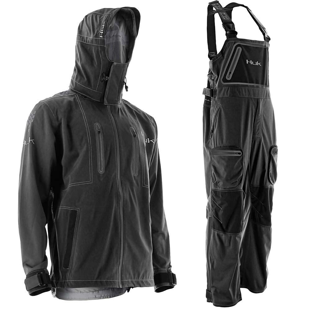 Huk Next Level Kryptek All Weather Jacket and Bib