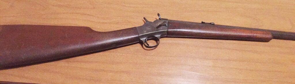 remington model 4 rolling block, remington, guns, single-shot rifles,