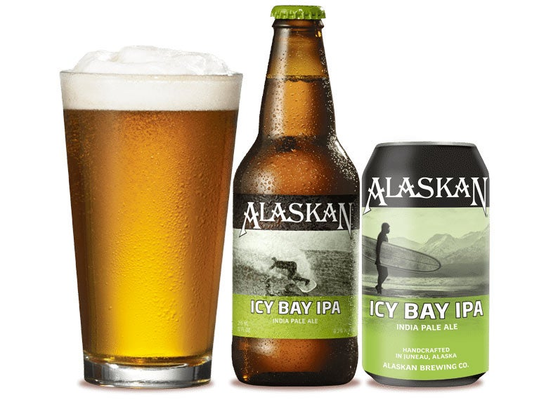 Alaskan Brewing Co.  Icy Bay IPA