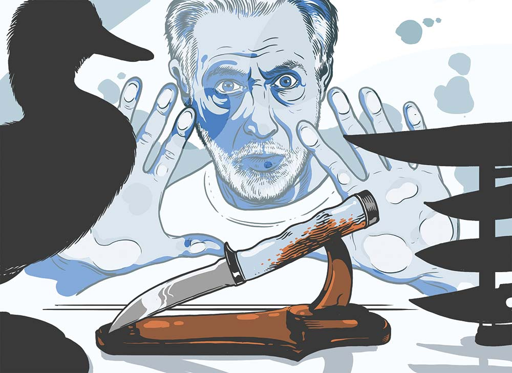 david petzal hunting knife