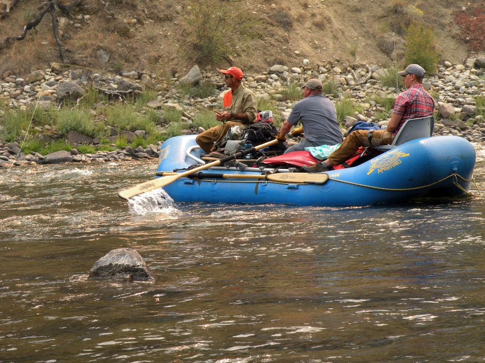 Backcountry Cast and Blast: Floating the Middle Fork of Idaho's Salmon River for Chukars, Grouse, and Cutthroats