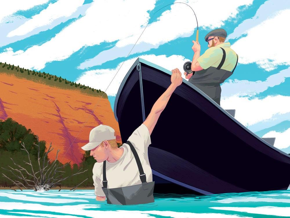 trout fishing Montana Bighorn River