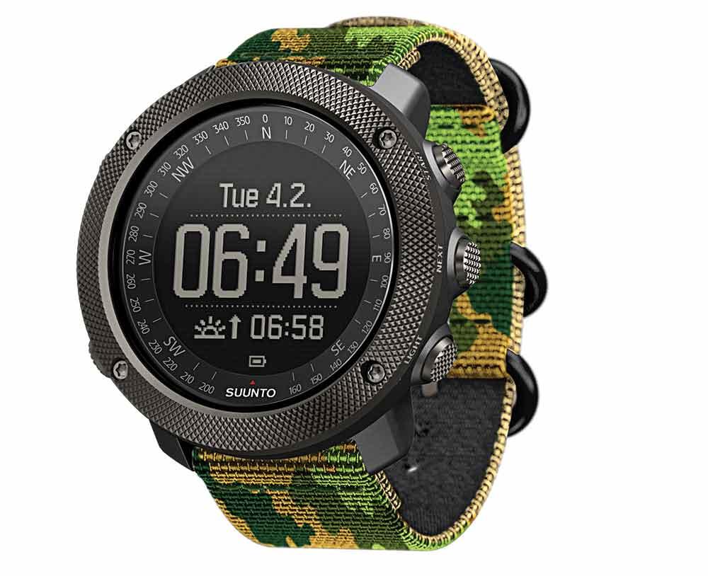 Suunto Traverse Alpha Woodland Hunter's Watch